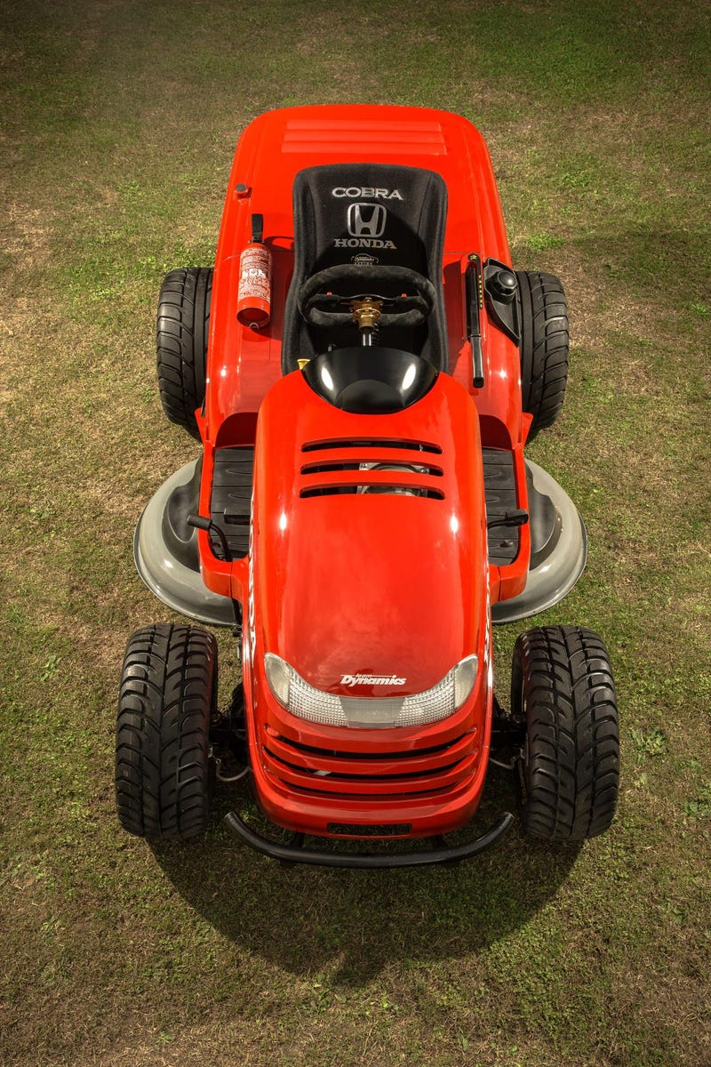 Meet The World's Most Badass 130 MPH Fire-Spitting Lawnmower