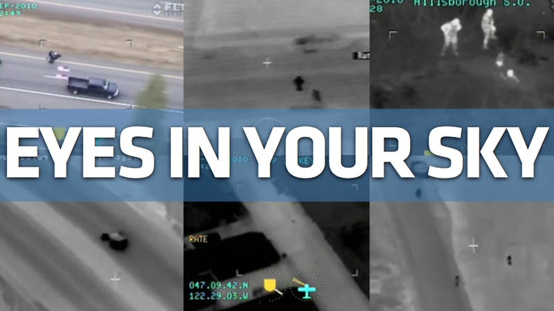 These are this year's best airborne police chase videos