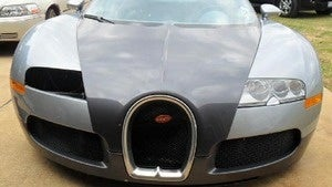 The $1.5 million Veyron dipped in a Texas lake hits a salvage auction