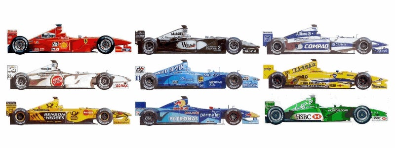 Finally. My New Plan For F1 Team Evolution: 2000-2009