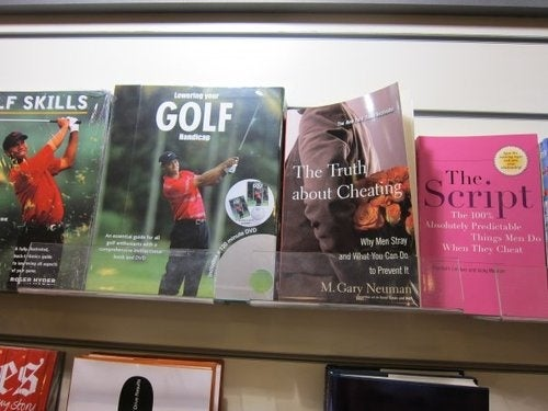 Tiger Woods Books Now Filed in Irony Section