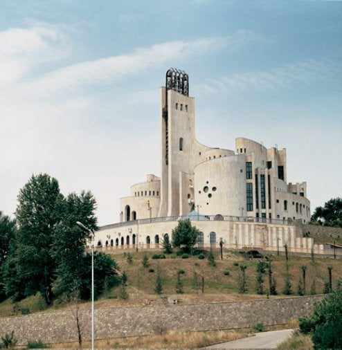 1970s Soviet Alien Architecture
