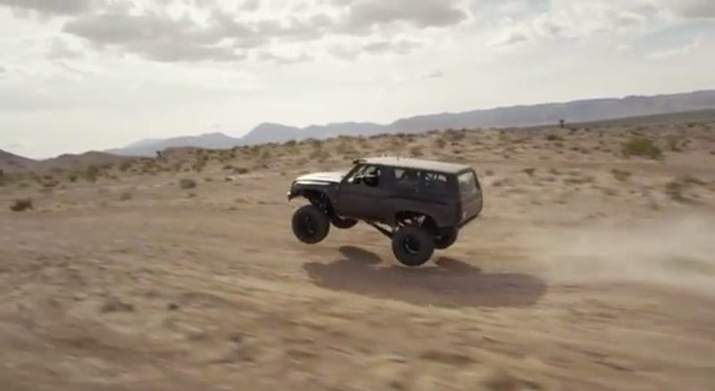 Watch The Coolest Chevy Blazer Of Our Time Tear Up The Desert