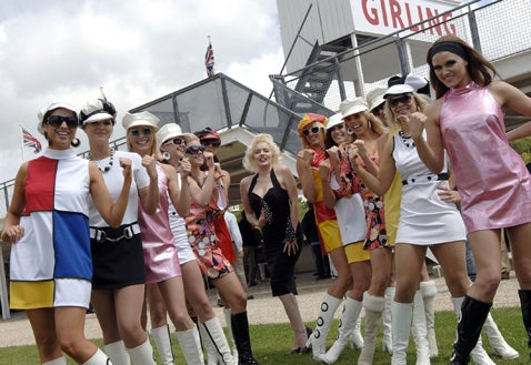 Goodwood Revival Ladies Day