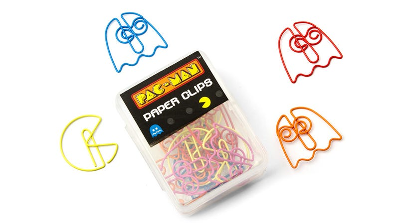 Pac-Man Paper Clips Bring a Glimmer of Whimsy To Your Soul-Crushing Office Gig