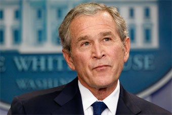 Bush Wins Anti-Choice Award