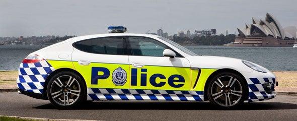 Aussies Get Porsche Panamera Police Patrol Car