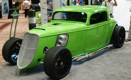 Natural Gas Hot Rod Is VERY Green, Very Fast