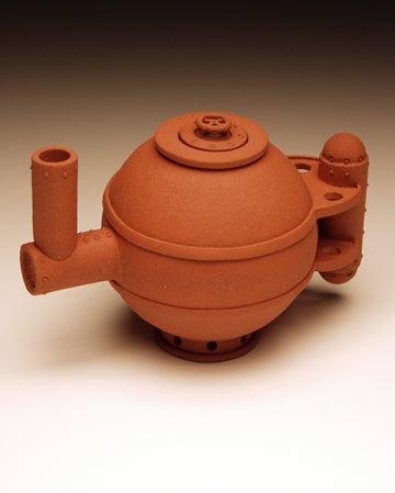 Steampunk Tea Pots Are Very Rust-Tea