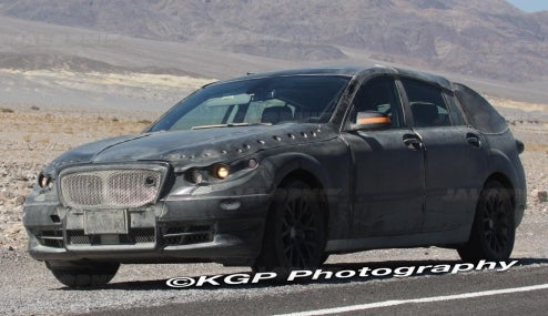 2010 BMW V5 Spotted During Hot-Weather Testing