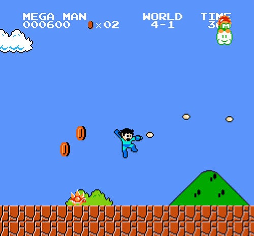 Play Super Mario Bros. As Mega Man, Link, Samus, And More!
