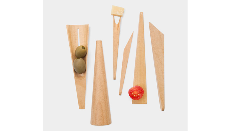 Trump the Toothpick With Beechwood Appetizer Tools