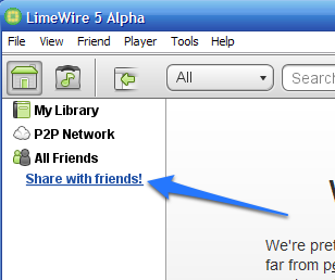 LimeWire 5 Alpha Adds Private Peer-to-Peer File Sharing, Integrates with Gmail
