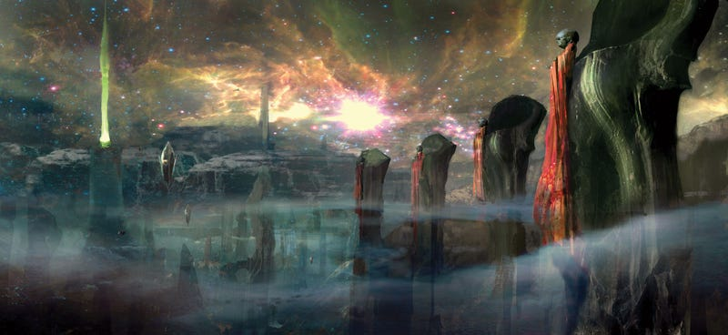 Superb Concept Art That Shows How Green Lantern's Intense World Became a Movie