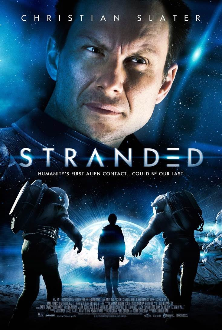 Clip makes Christian Slater's Stranded look like The Thing meets Moon