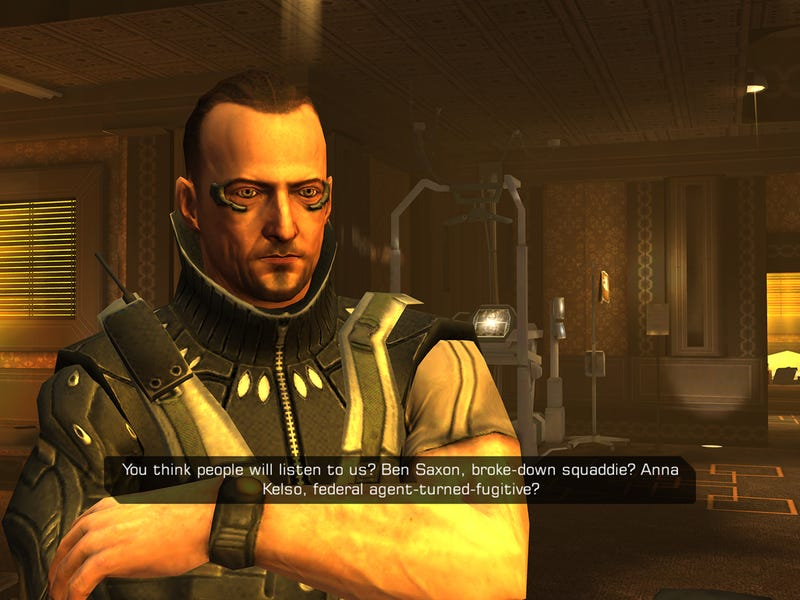 Sorry Console/PC Gamers, But The Mobile Deus Ex Is Damn Good