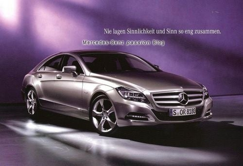 2012 Mercedes CLS: More Creases, New 429 HP V8