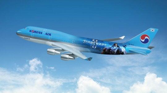 Korea Actually Gets A Starcraft II Jumbo Jet