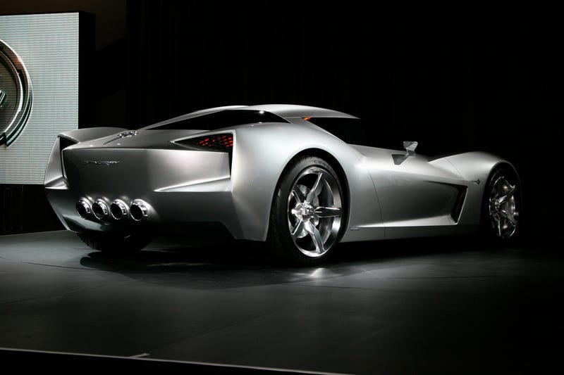 Corvette Stingray Concept: Sideswipe In Disguise