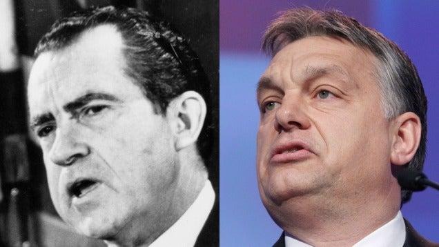 Richard Nixon vs. Orbán Viktor