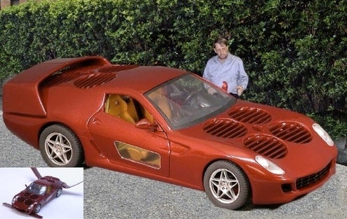Moller Planning Flying Ferrari 599 GTB For Russian Businessman