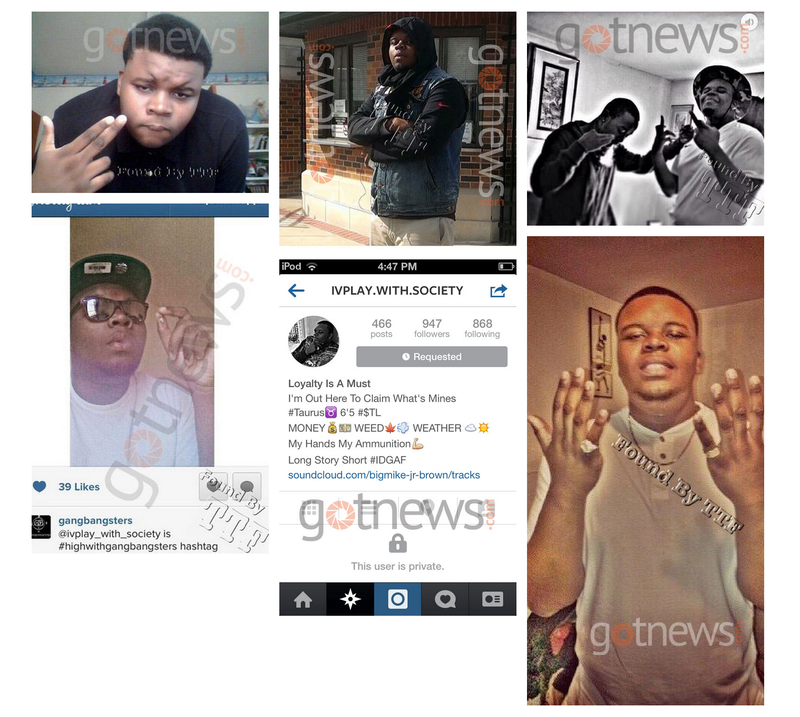 "James O'Keefe Wannabe ""Exposes"" Michael Brown's Instagram"