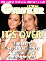 "Lindsay Lohan And Girlfriend ""Didn't Look Like A Couple"" Last Night!"