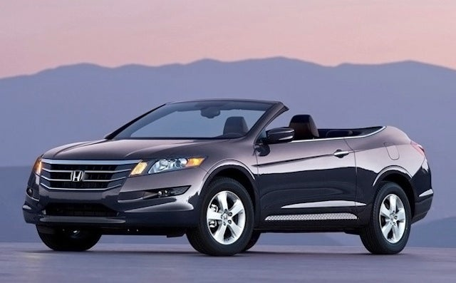 Honda Accord Crosstour Cabriolet coming to take on Nissan's topless Murano