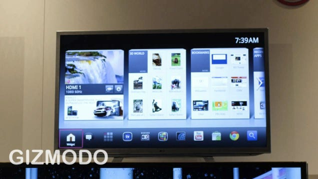 LG Throws Two Double-Brained Google TVs Into the World