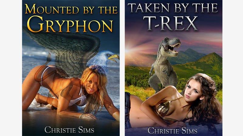 Dinosaur + Human Romance Novels Are A Real Thing. Huh.