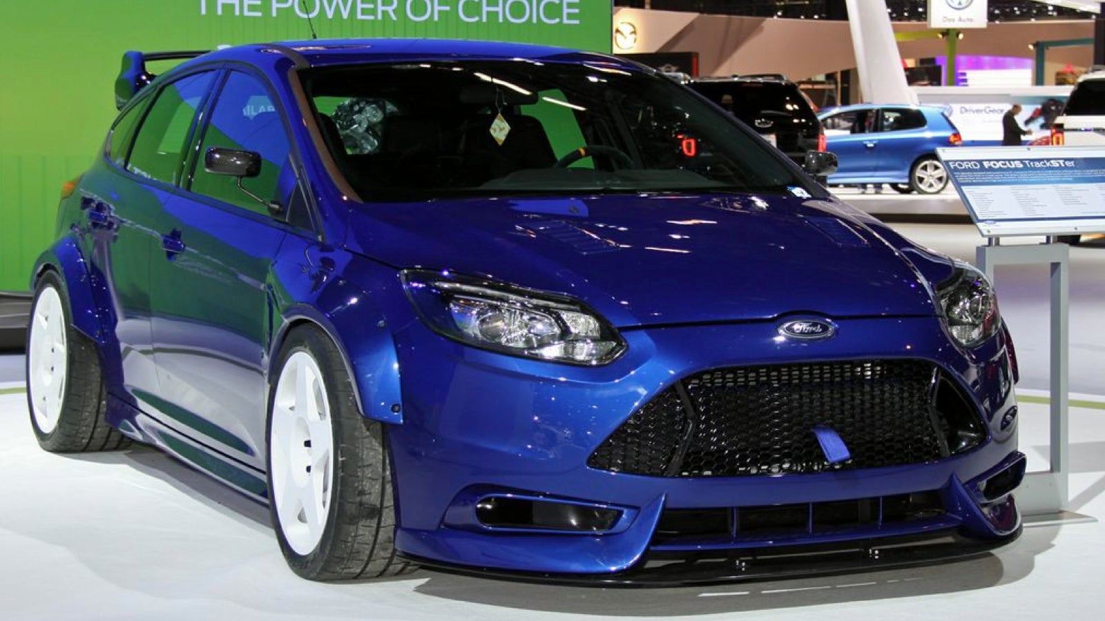 Ford TrackSTer: An Incredible 500 Horsepower Focus With A ...