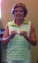 Pat Summitt Hit A Hole-In-One Yesterday
