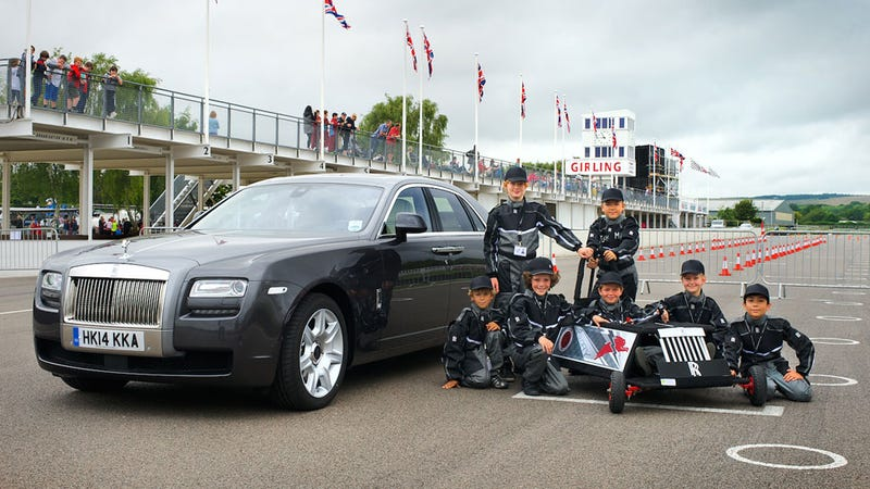 Rolls-Royce Sponsors The Most Competitively Adorable Racing Team Ever