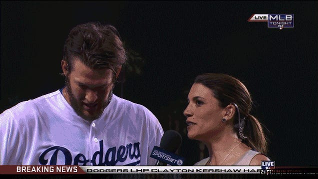 Clayton Kershaw Hurls A Dominant No-Hitter Against The Rockies