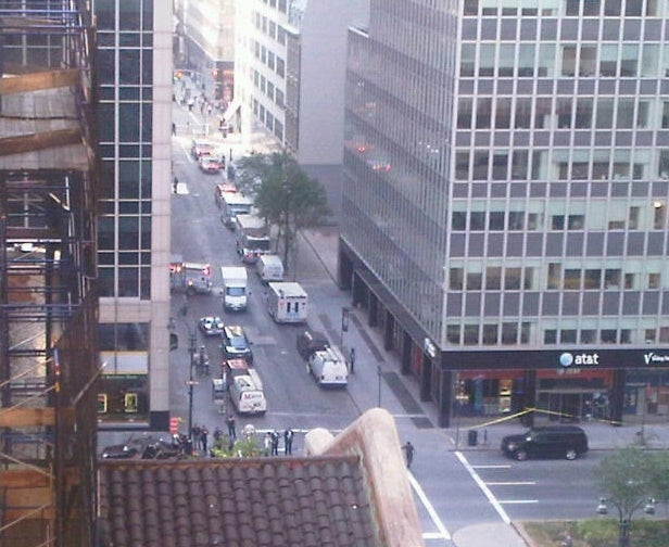 Bomb Scare in Midtown Manhattan (Updated)