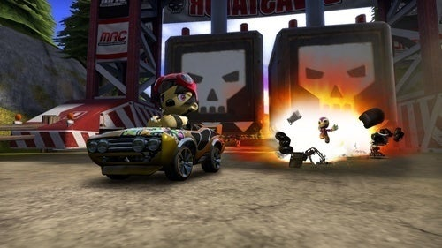ModNation Racers Crashing Our Podcast Live This Week