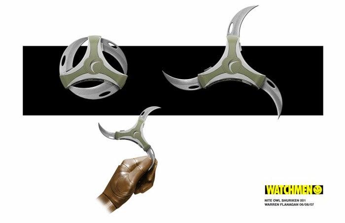 Prop Photos Reveal Watchmen's New Ninja Weapons