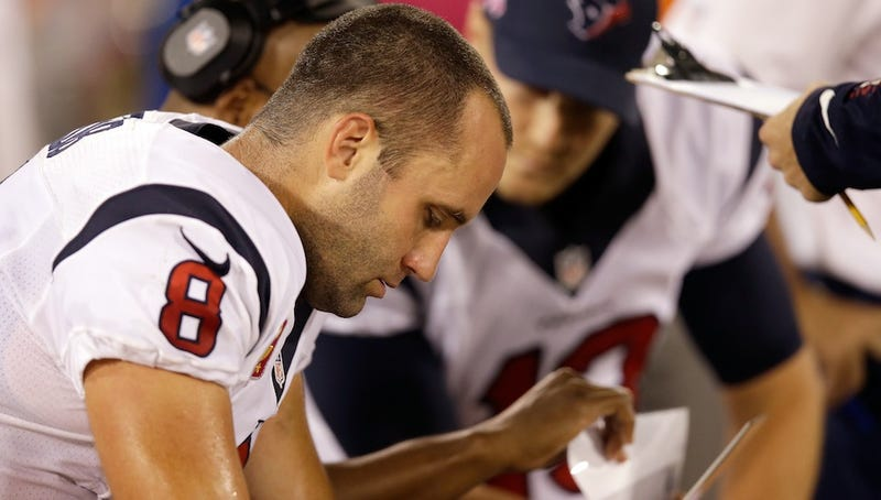 Report: Angry Texans Fans Go To Matt Schaub's House To Harass Him [Update]