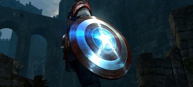 Captain America's Shield is a Natural Fit for Dark Souls