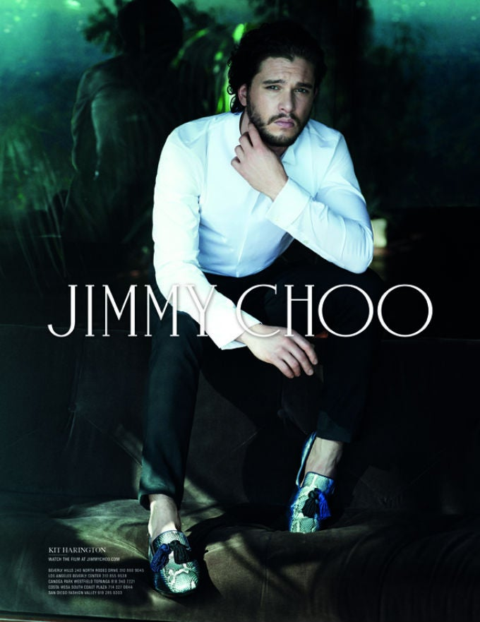Jon Snow Knows Nothing About Jimmy Choo Shoes
