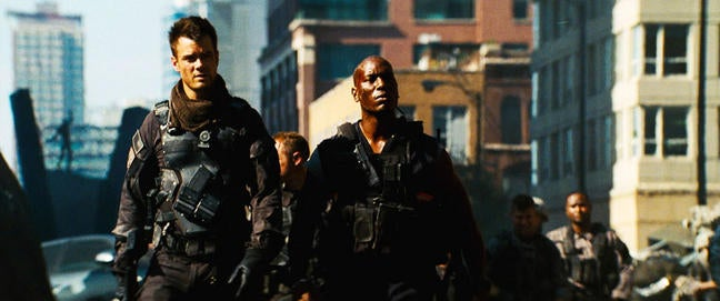 Tyrese Gibson explains why fighting Decepticons gives you PTSD