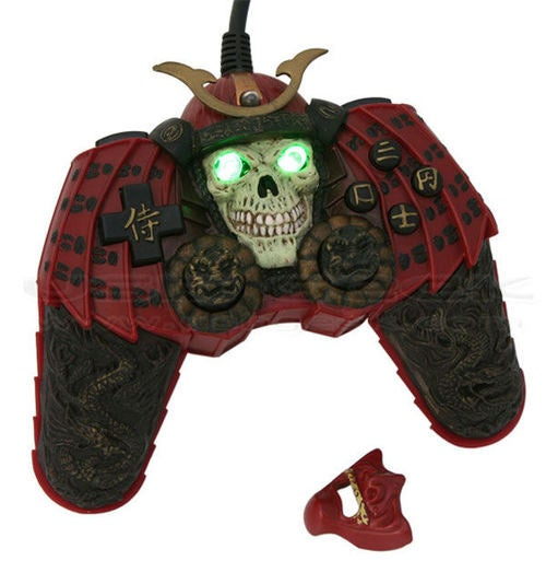 Woah, This Samurai Warrior USB Gamepad is All Kinds of Freaky