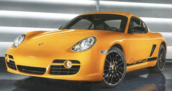 New 303 HP Porsche Cayman S Sport Leaks Onto Net
