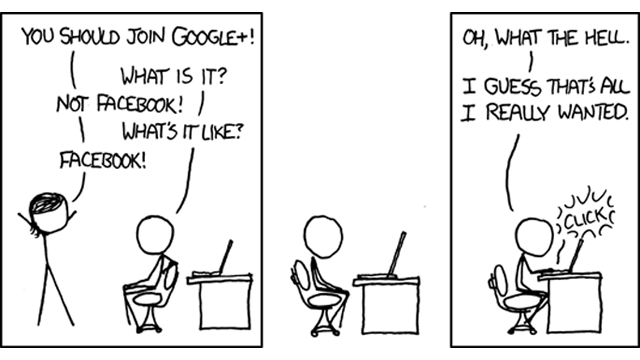XKCD Author Asks: Is Google+ Too Gendered?