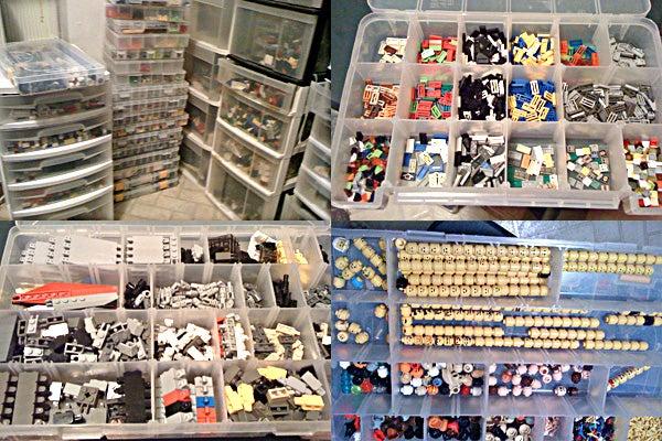 The Supply Room of a Lego Maniac