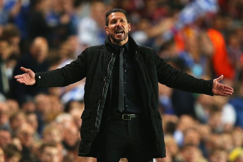 Atlético Madrid's Diego Simeone Is The World's Dopest Manager