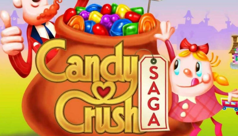 Candy Crush Makers Sadly Realize They Can't Copyright the Word 'Candy'