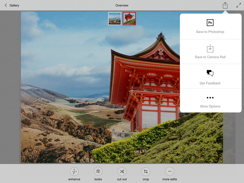 Photoshop Mix: Desktop-Lite Photo Editing Lands on the iPad
