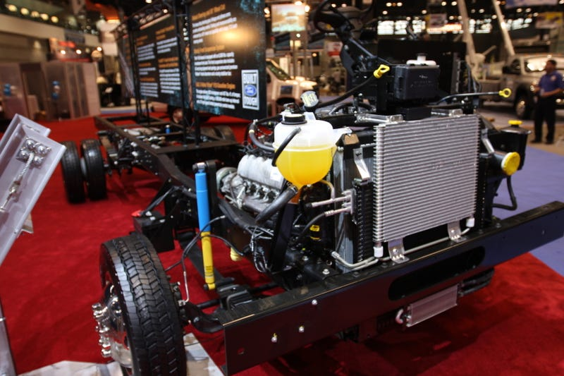2011 Ford F-59 Super Duty Commercial Chassis: OMG! Exclusive First Live Shots!
