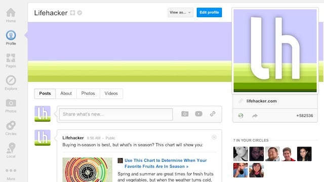 Circle Lifehacker at Google+ for Our Top Stories, Our Writers for All the News We Don't Post
